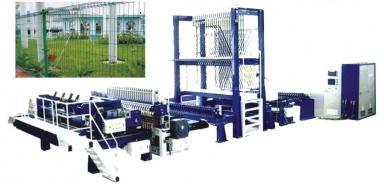 XFB Высокоcкоростной комплекс по производству промышленной стальной ячеистой сетки