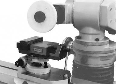 Тиски трехповоротные (длина губок 100 мм.) 3Е642Е.П37