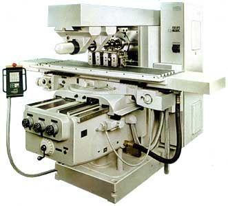Горизонтальный консольно-фрезерный станок с поворотным столом FU400MR