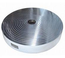 Плита электромагнитная круглая с концентрическим расположением полюсов