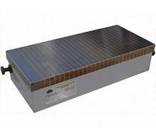 Плита электромагнитная прямоугольная с поперечным расположением полюсов