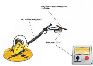 Затирочная машина ЭЗМ-900
